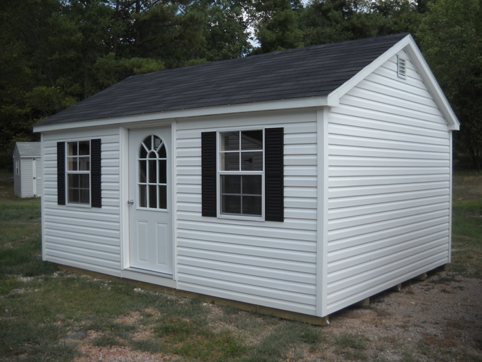 Amish barns affordable barn and gazebos amish barns for Affordable barn homes