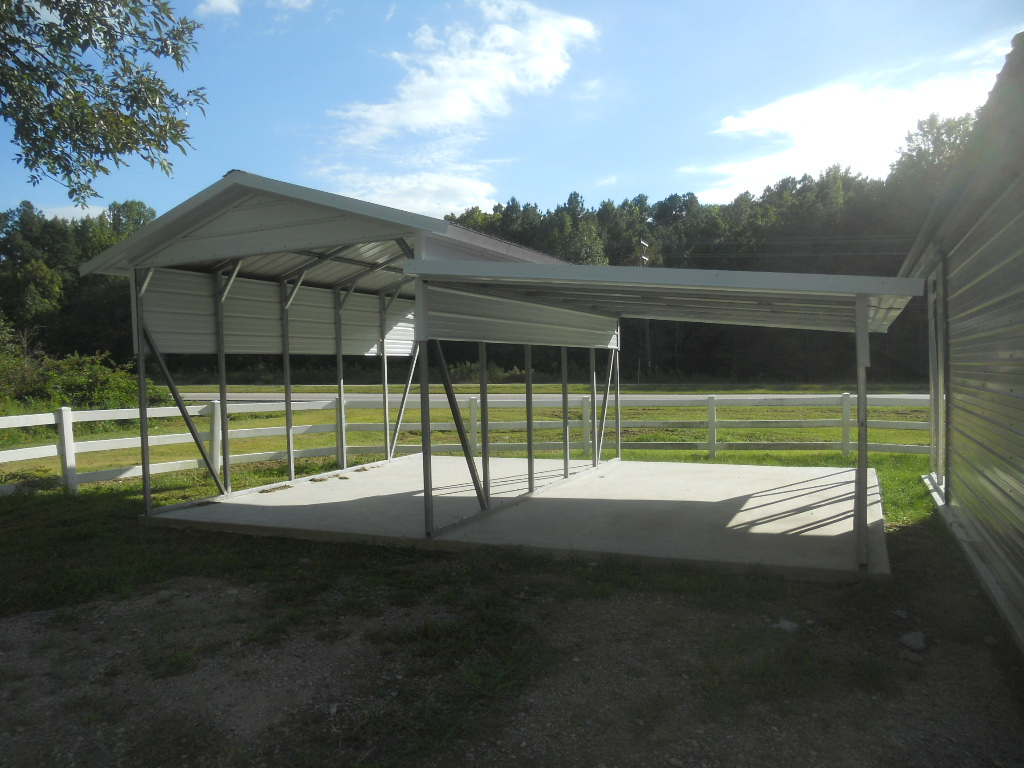 Carport From A Frame To Standard Carport Enclosures And Everything In Between Amish Barns