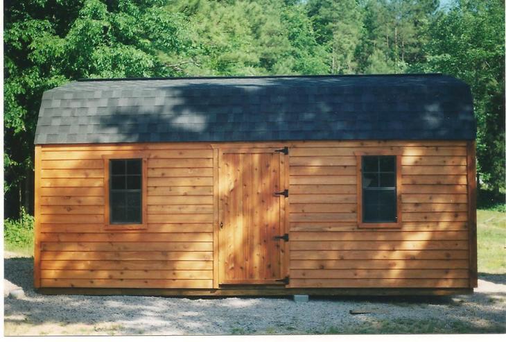 amish barns w107 CEDAR